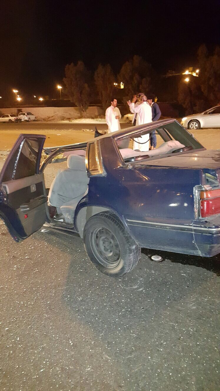 إصابتان خطيرتان في حادث تصادم على الطريق الدائري بـ #الطائف (1)