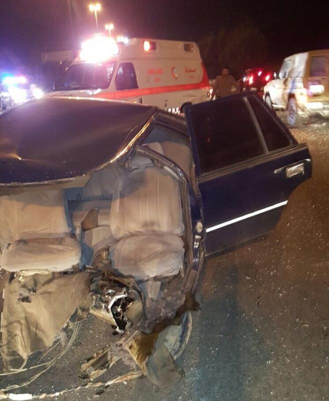إصابتان خطيرتان في حادث تصادم على الطريق الدائري بـ #الطائف (2)