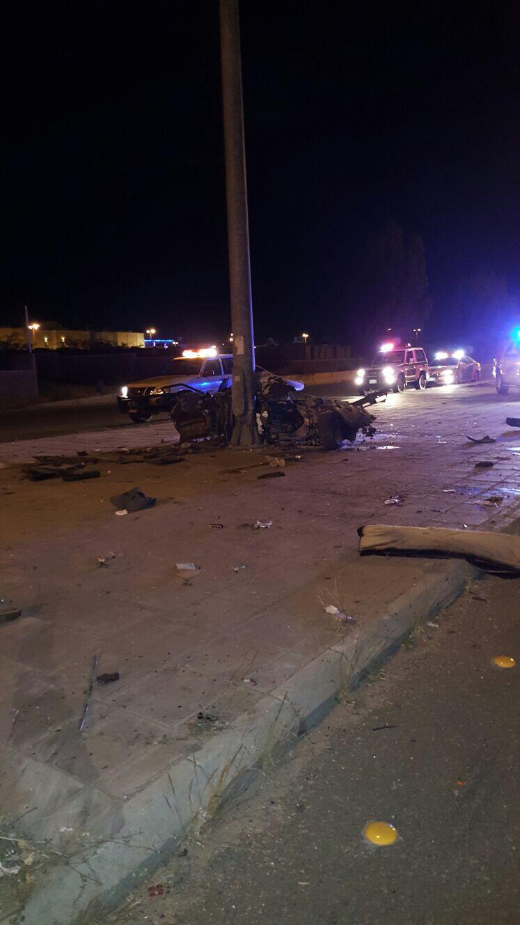 إصابتان خطيرتان في حادث تصادم على الطريق الدائري بـ #الطائف (3)