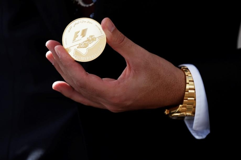 إصدار عملة ذهبية فريدة بوزن 5 كجم في أبوظبي