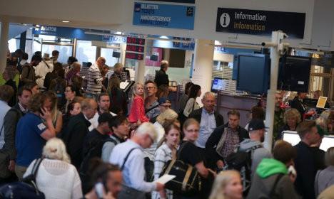 إضراب الطيارين السويدين