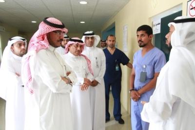 إعادة تشغيل ثلاثة أقسام بمستشفى جازان العام (1) 