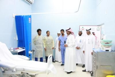 إعادة تشغيل ثلاثة أقسام بمستشفى جازان العام (34669060) 