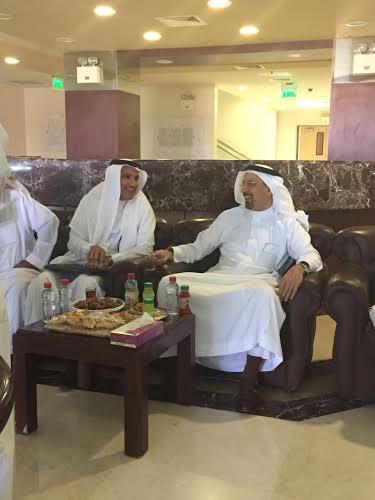 إعلاميو القصيم ينتقدون زيارة وزير الصحة4