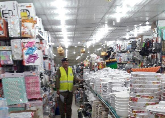 إغلاق محل وإنذار 5 أخرى بسبب مخالفات السلامة في #صبيا (1)