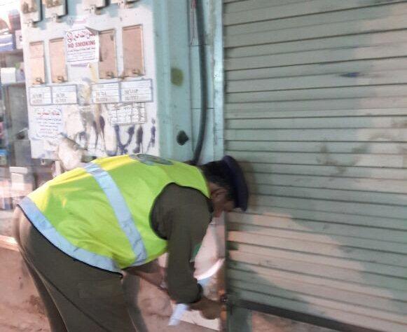 إغلاق محل وإنذار 5 أخرى بسبب مخالفات السلامة في #صبيا (2)