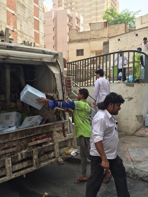 إغلاق مطبخ عشوائي داخل عمارة سكنية بمركزية مكة 3