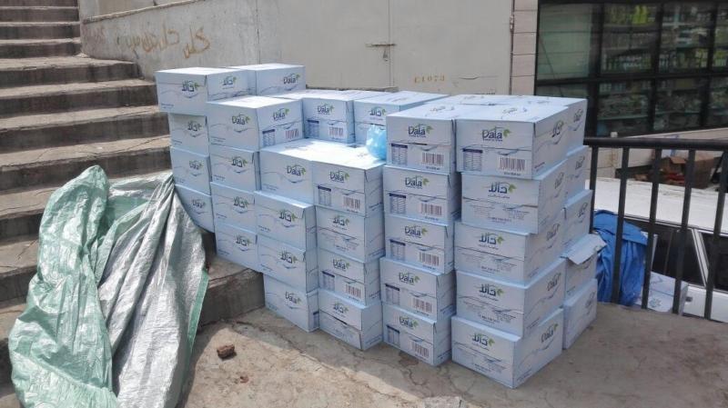 إغلاق مطبخ عشوائي داخل عمارة سكنية بمركزية مكة 4