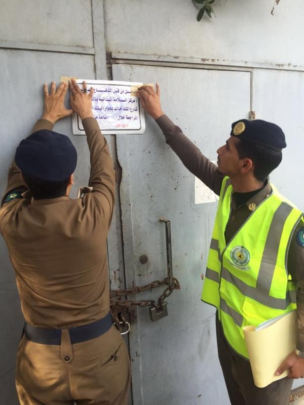 إغلاق وتسجيل مخالفات لـ134 مستودعًا في #جدة (2)