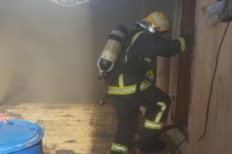 التماس كهربائي يسبب حريقًا في شرورة - المواطن
