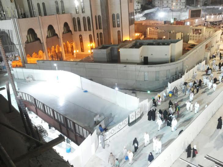 إمارة مكة  اِكْتِمَال جِسر الصفا بالمسجد الحرام والتشغيل الليلة (1) 