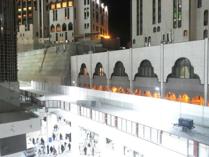 إمارة مكة  اِكْتِمَال جِسر الصفا بالمسجد الحرام والتشغيل الليلة (715504181) 