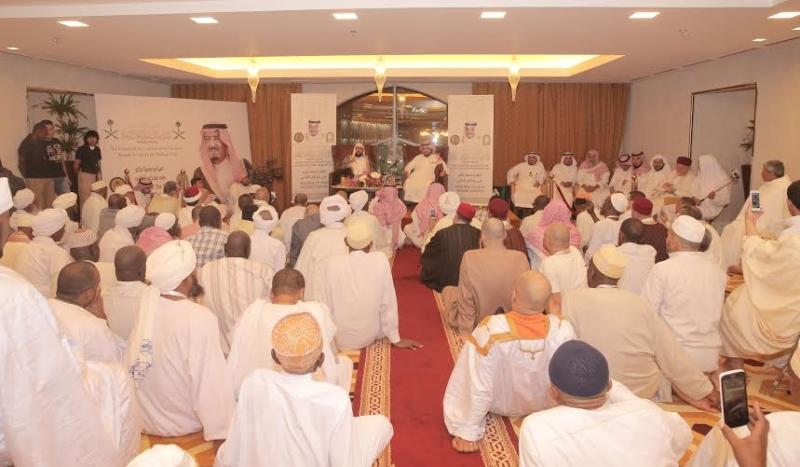 إمام الحرم لضيوف الملك سلمان (1) 