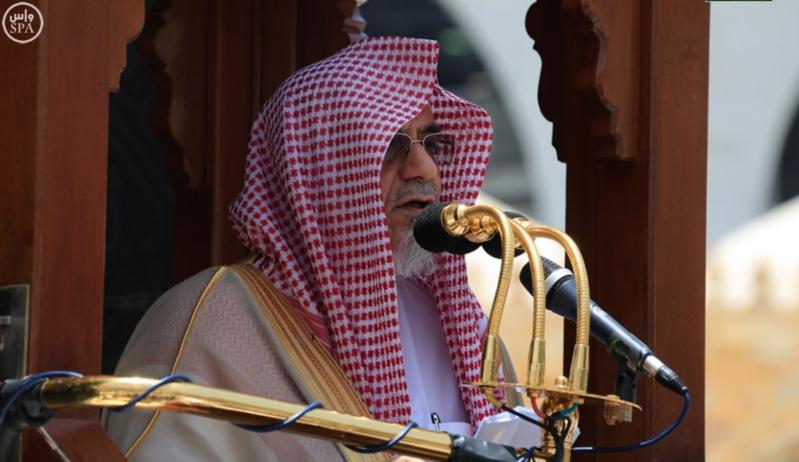 ابن حميد من منبر الحرم : الوحدة الإسلامية المنشودة لا تتحقق بالشعارات والأمنيات