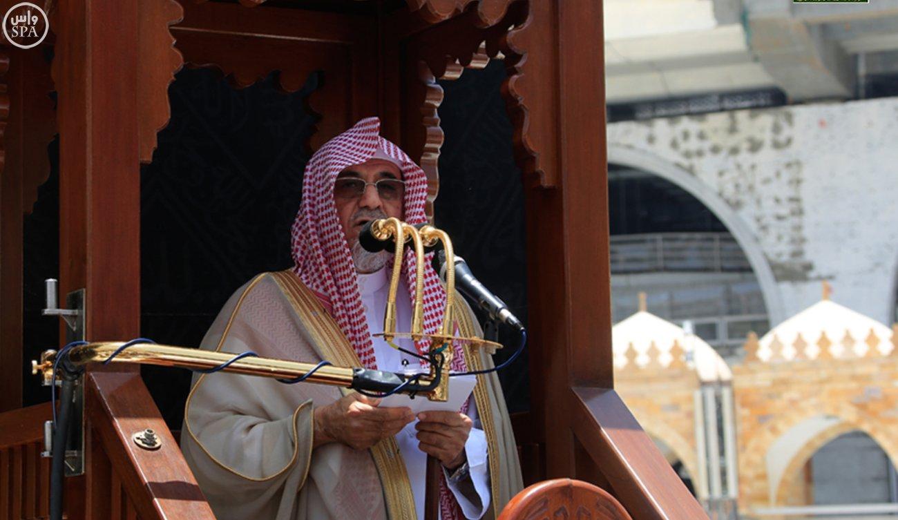 إمام وخطيب المسجد الحرام الدكتور صالح بن عبدالله بن حميد1