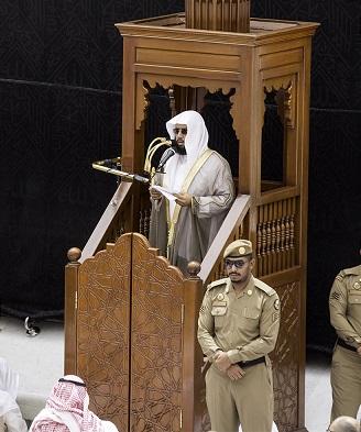 إمام وخطيب المسجد الحرام الشيخ الدكتور خالد بن علي الغامدي