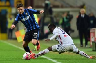 إنتر ميلان المركز الرابع في الدوري الإيطالي