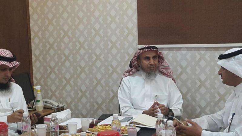 ابراهيم سالم بالحارث مدير عام صحة نجران المكلف يقف علي احتياجات صحة نجران