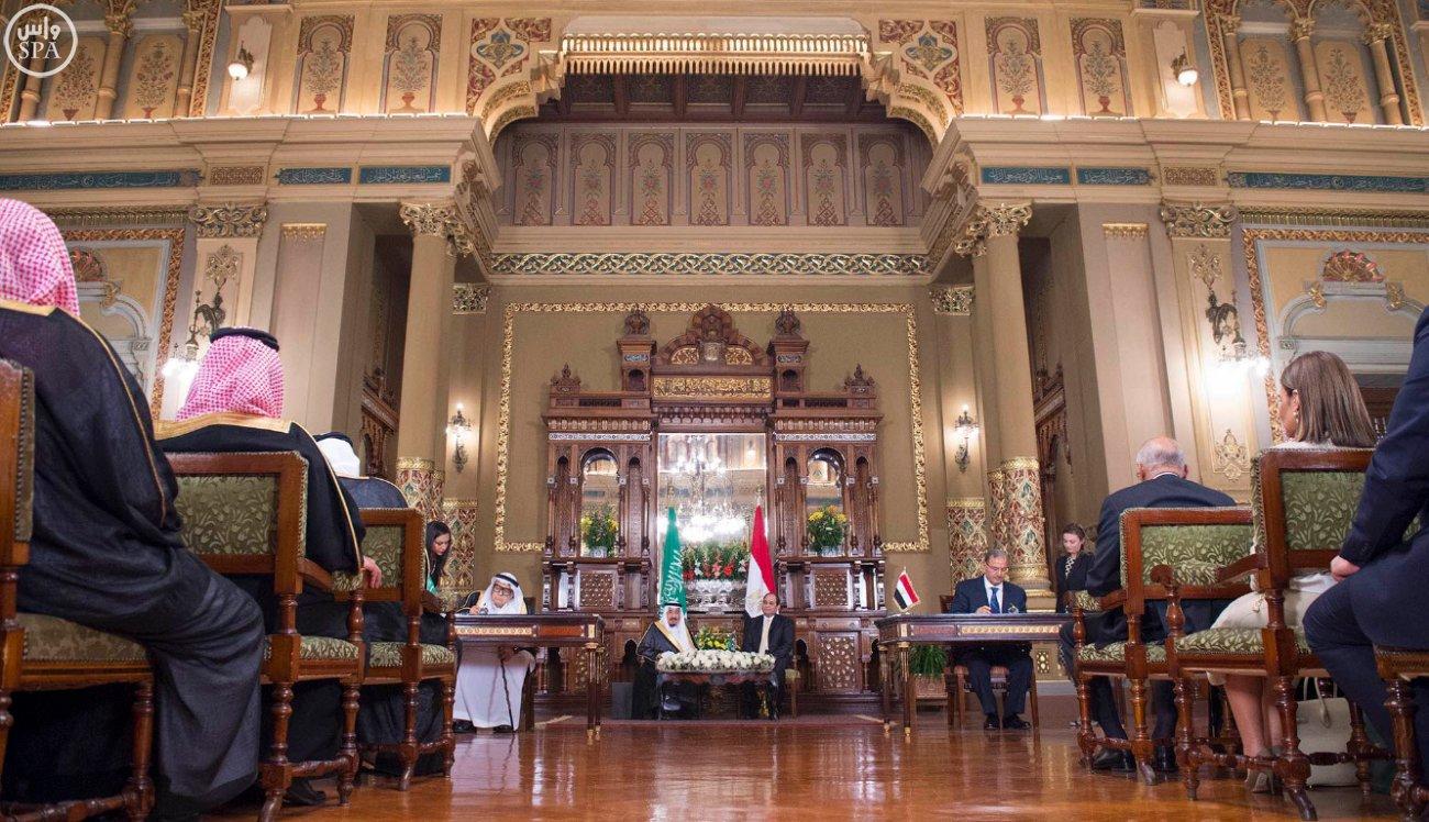 اتفاقية المنطقة الحرة بشمال سيناء اول مشاريع جسر الملك سلمان (10)