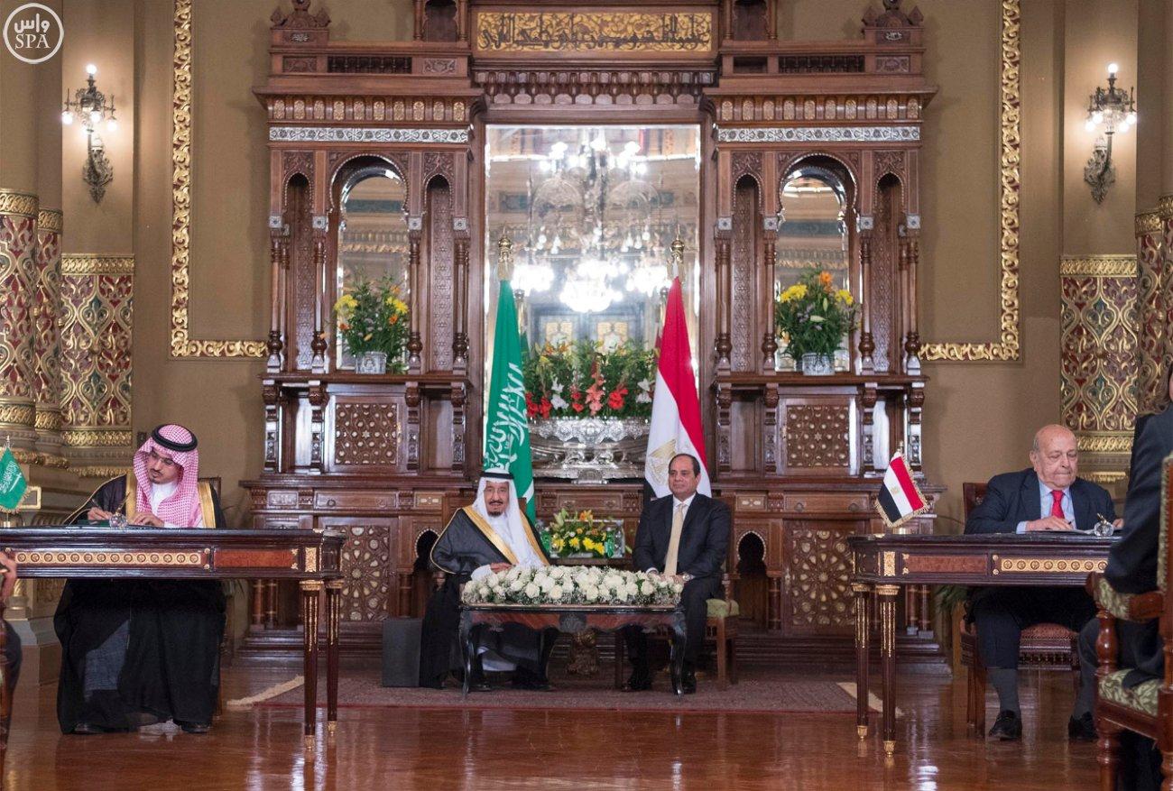 اتفاقية المنطقة الحرة بشمال سيناء اول مشاريع جسر الملك سلمان (11)