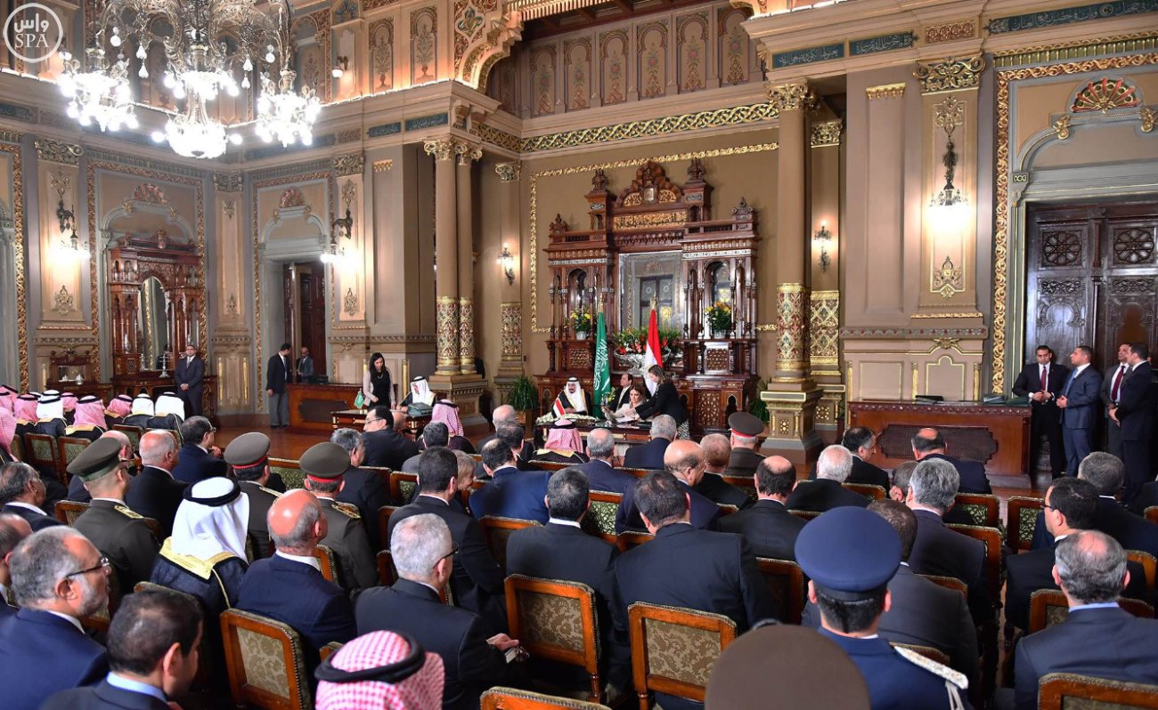 اتفاقية المنطقة الحرة بشمال سيناء اول مشاريع جسر الملك سلمان (12)