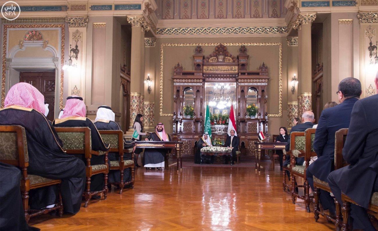 اتفاقية المنطقة الحرة بشمال سيناء اول مشاريع جسر الملك سلمان (13)