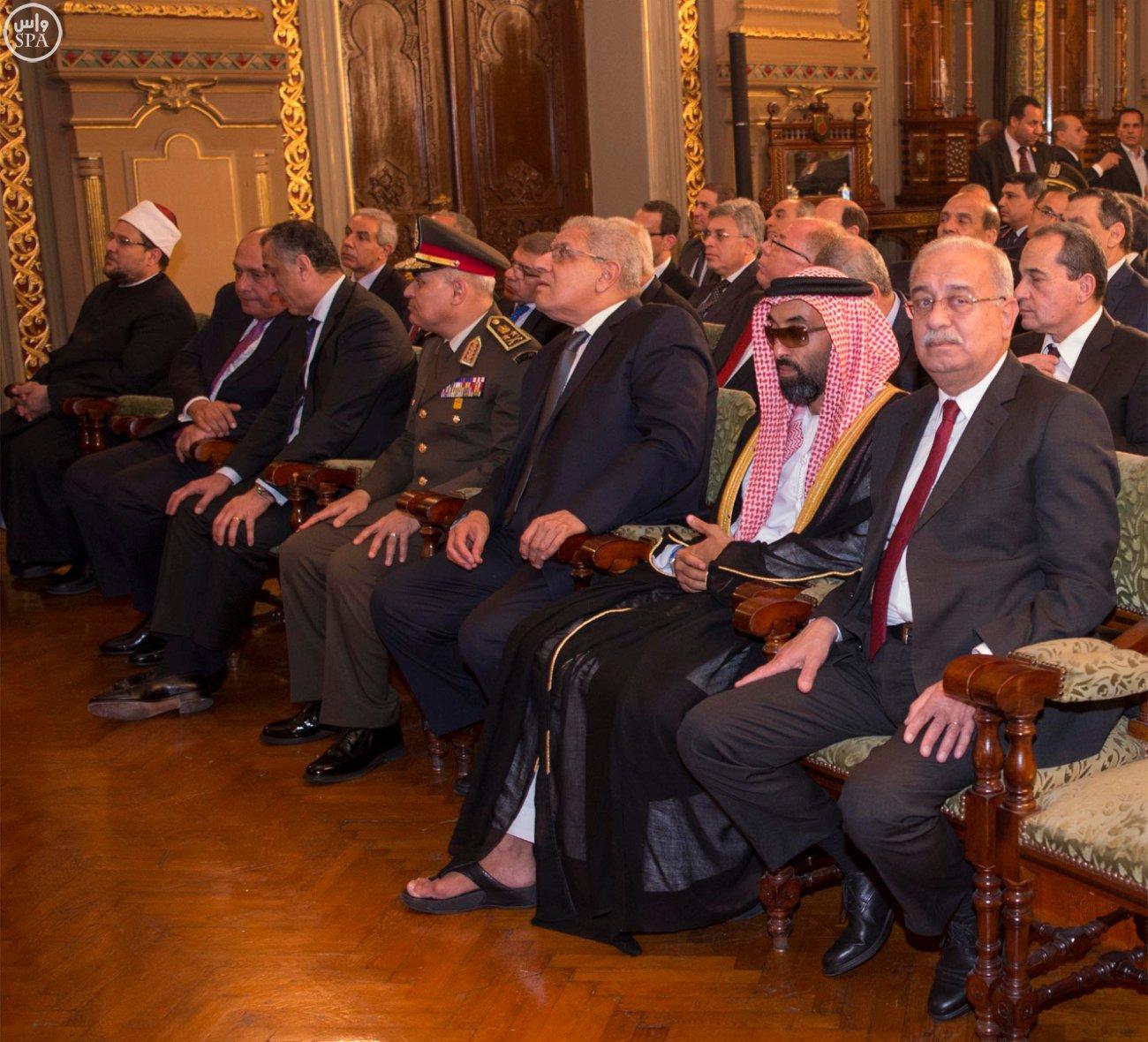 اتفاقية المنطقة الحرة بشمال سيناء اول مشاريع جسر الملك سلمان (2)