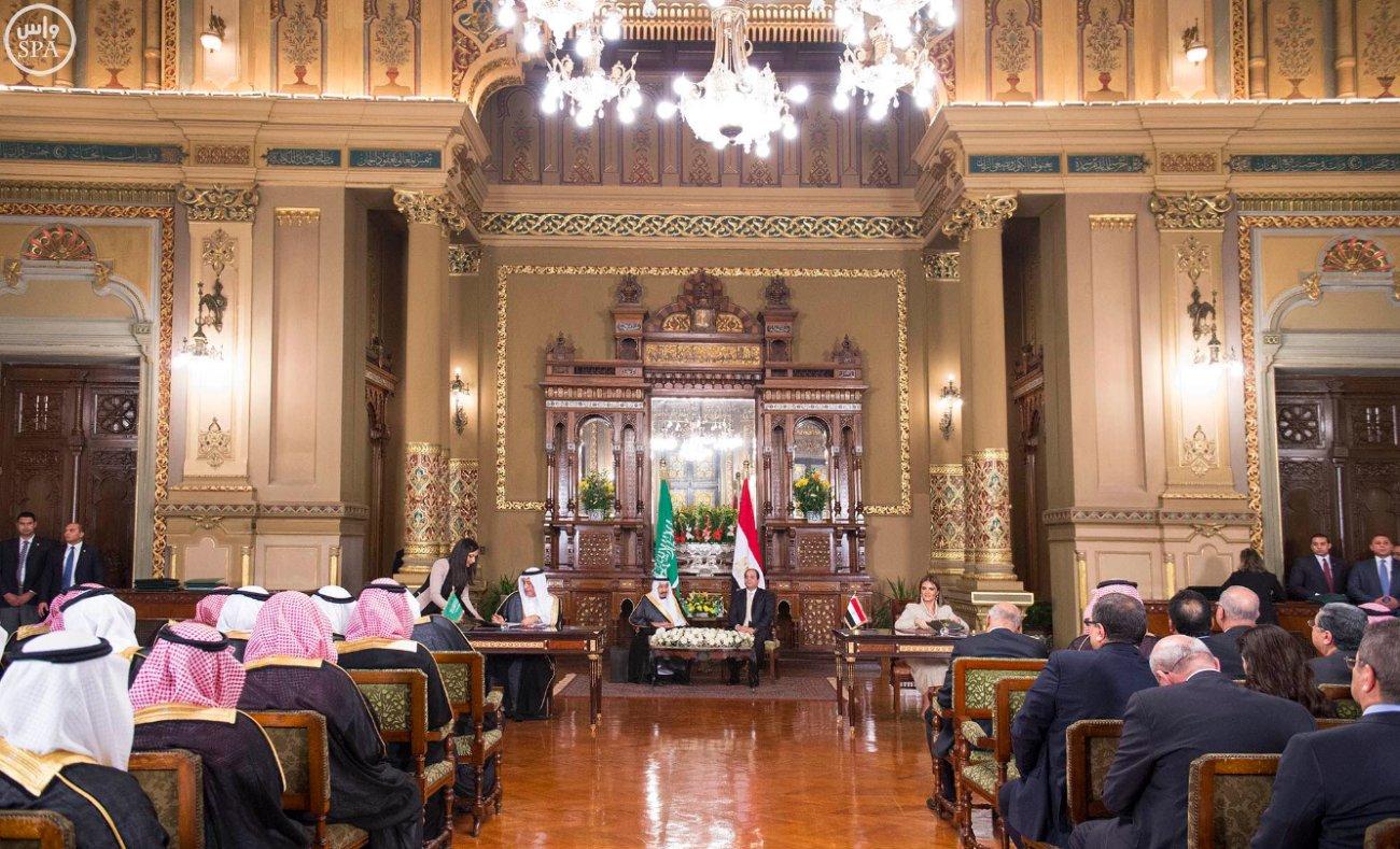 اتفاقية المنطقة الحرة بشمال سيناء اول مشاريع جسر الملك سلمان (9)