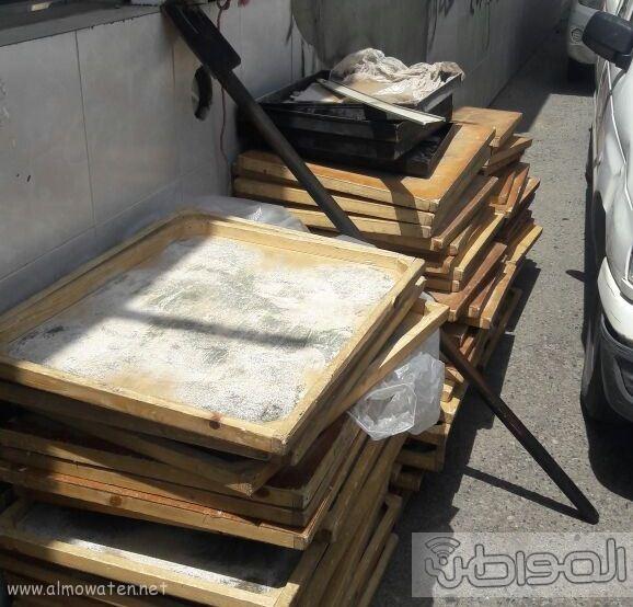 اتلاف 100قطعة خشبية متعفنة في مخبز شهير في بلقرن (2)