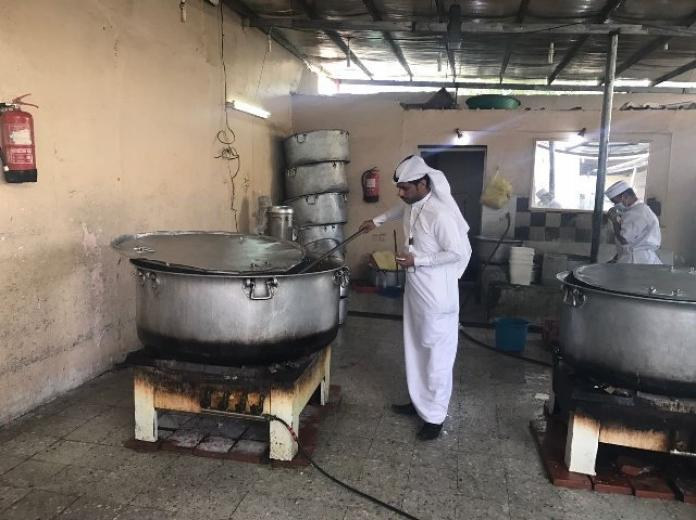اتلاف 150 كجم لحوم داخل استراحة خاصة في #نجران