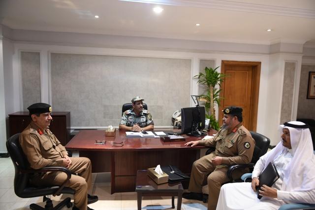 اجتماعات قائد قوات  الحج (1)