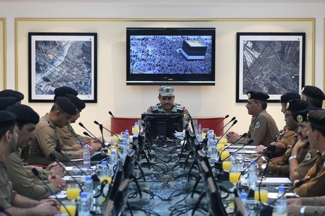 اجتماعات قائد قوات  الحج (2)