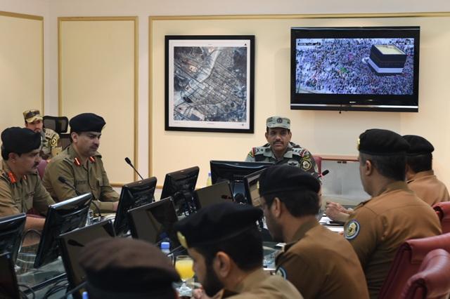 اجتماعات قائد قوات  الحج (4)