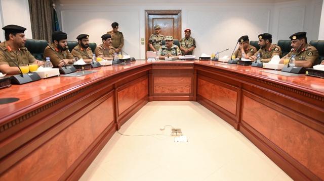 اجتماعات قائد قوات  الحج (5)