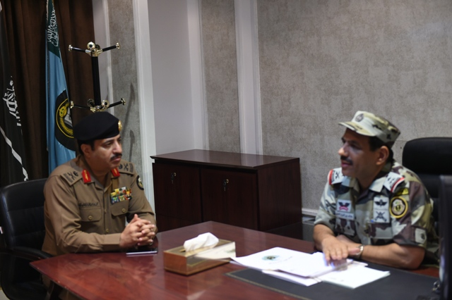 اجتماعات قائد قوات  الحج (7)