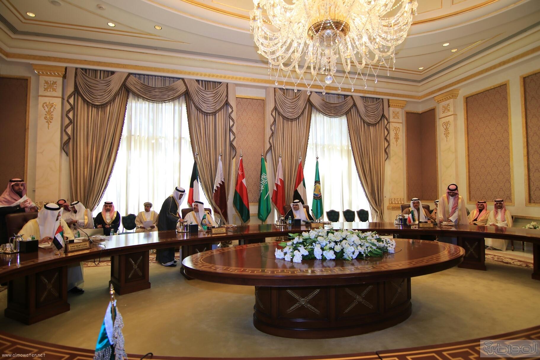 اجتماع استثنائي لوزراء الاعلام بدول الخليج (3)