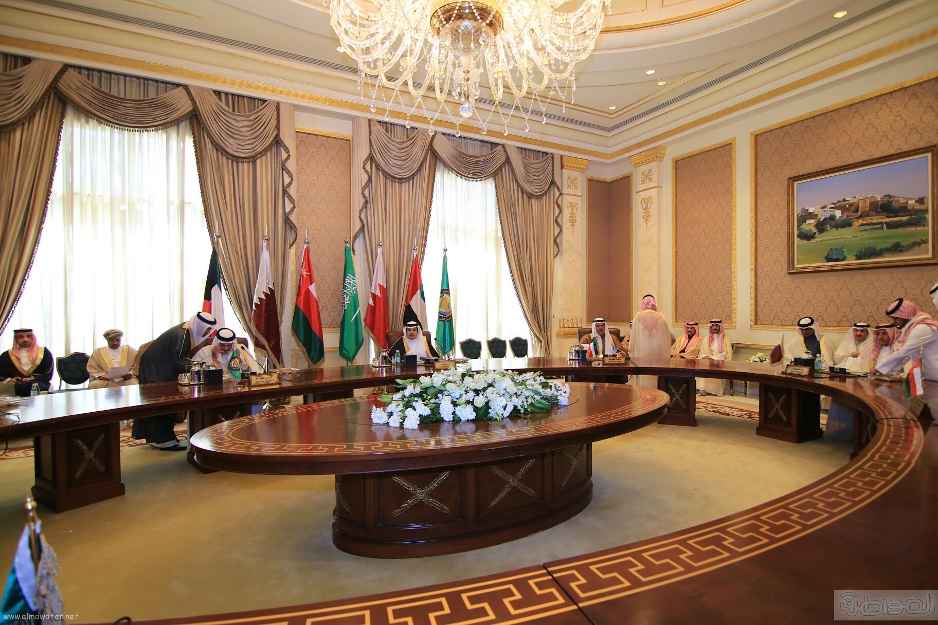 اجتماع استثنائي لوزراء الاعلام بدول الخليج (4)
