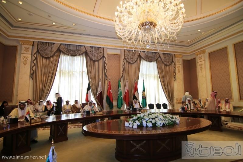 اجتماع استثنائي لوزراء الاعلام بدول الخليج (5)