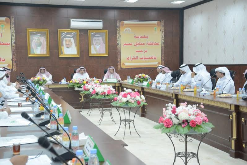 اجتماع المجلس المحلي