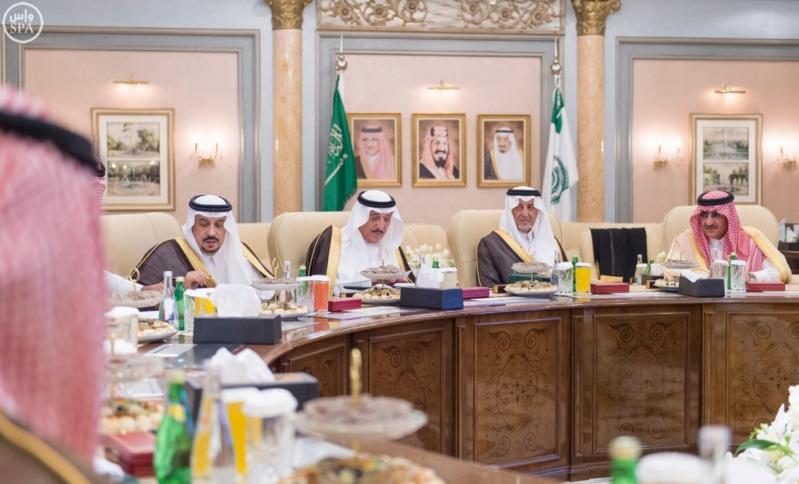 اجتماع امراء المناطق 5