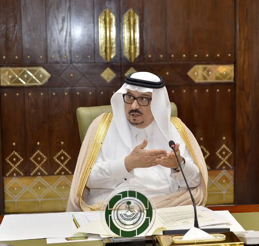 اجتماع امير الرياض مع المحافظين1