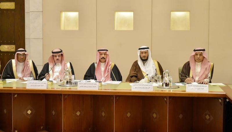 اجتماع امير الرياض مع المحافظين10