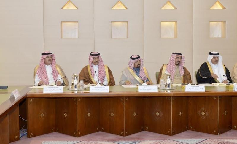 اجتماع امير الرياض مع المحافظين12