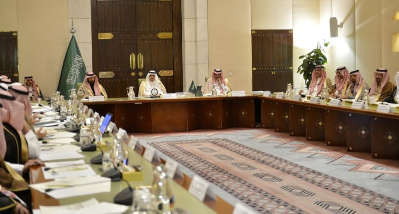 اجتماع امير الرياض مع المحافظين13