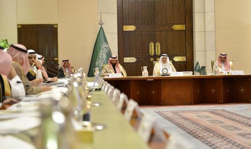 اجتماع امير الرياض مع المحافظين14