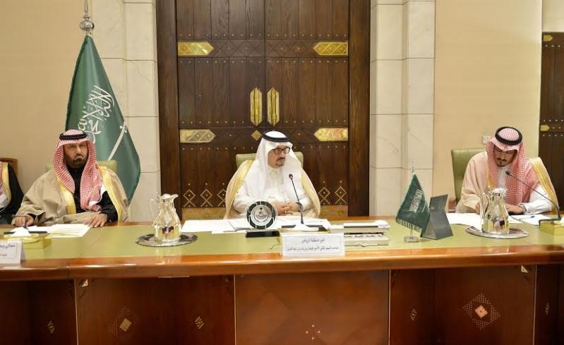 اجتماع امير الرياض مع المحافظين6
