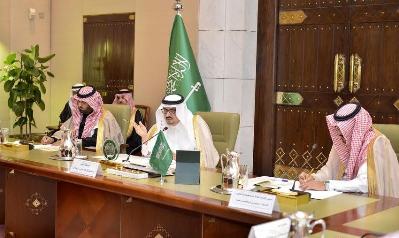 اجتماع امير الرياض مع المحافظين8