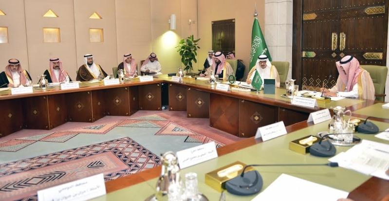اجتماع امير الرياض مع المحافظين9