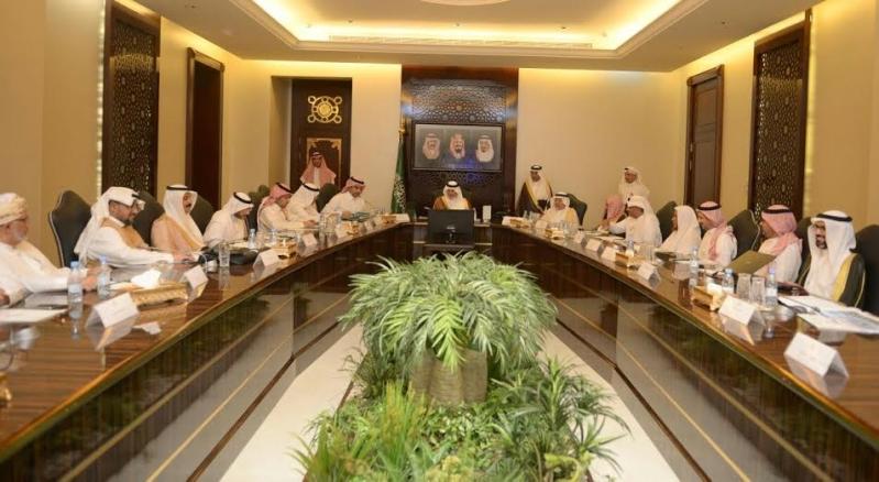اجتماع خالد الفيصل امير مكة