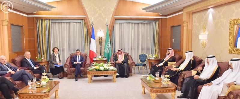 اجتماع-سعودي-فرنسي